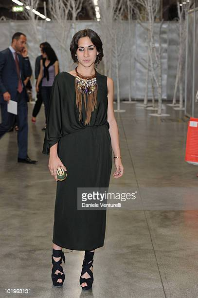 Delfina Delettrez Fendi attends the 2010 Convivio held at Fiera Milano City on June 10 2010 in Milan Italy