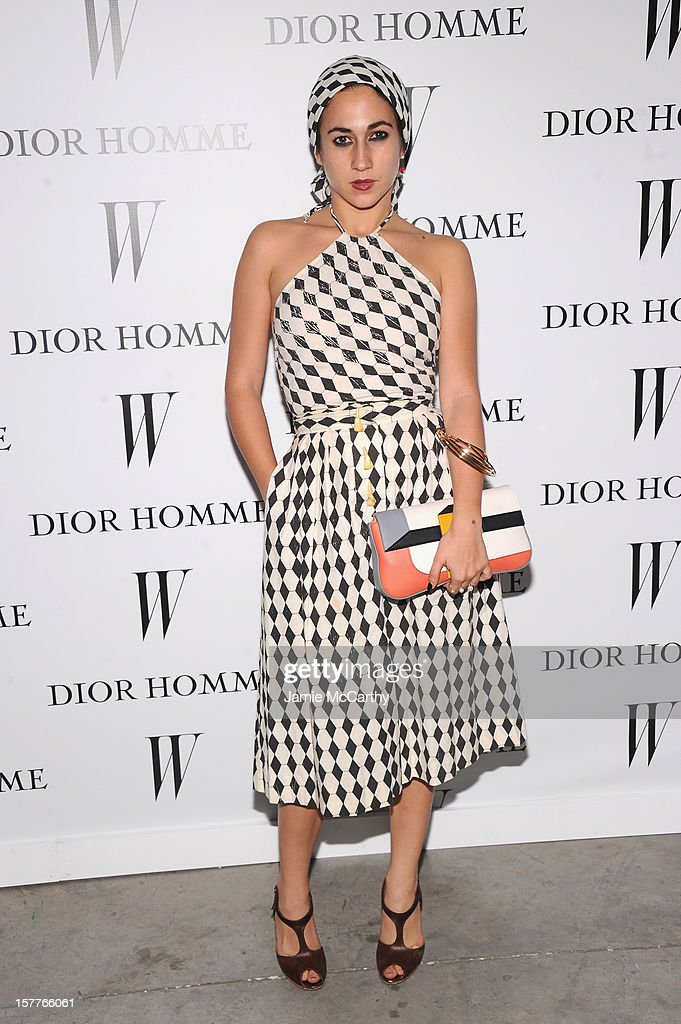 Delfina Delettrez Fendi attends the World Premiere of Bruce Weber's Film 'CAN I MAKE THE MUSIC FLY' hosted by DIOR Homme's Kris Van Assche, Bruce Weber, & W Magazine's Stefano Tonchi in Celebration of The New Dior Homme Miami Boutique at The Moore Building on December 5, 2012 in Miami, Florida.