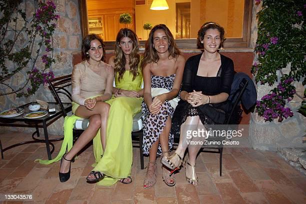 Delfina Delettrez Fendi Bianca Brandolini D'Adda Coco Brandolini D'Adda and Ginevra Elkann attend chapter 2 of Il Pellicano 'Globetrotters Reunion'...