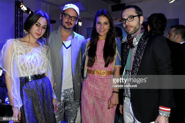 Delfina Delettrez Fendi Viktor Horsting Margherita Maccapani Missoni and Rolf Snoeren attend the MINI Countryman Picnic event on April 13 2010 in...