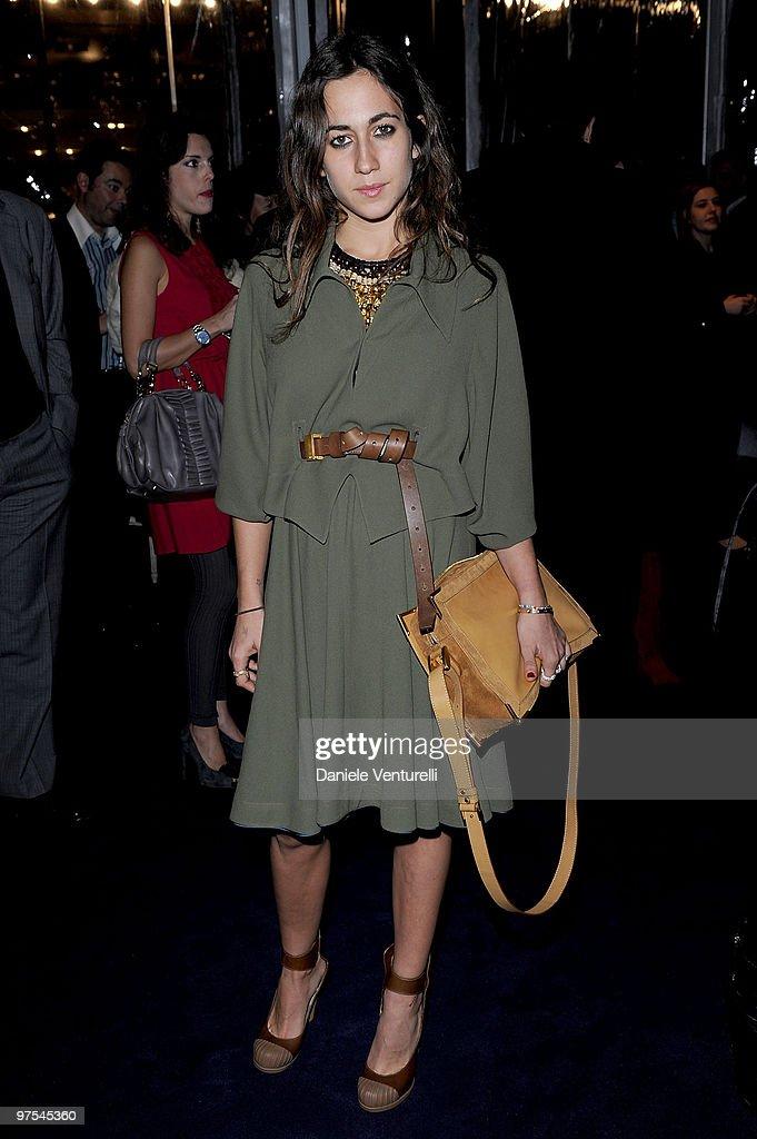 Delfina Fendi attends the Bulgari Chandra Event as part of Milan Fashion Week Womenswear A/W 2010 on February 26 2010 in Milan Italy