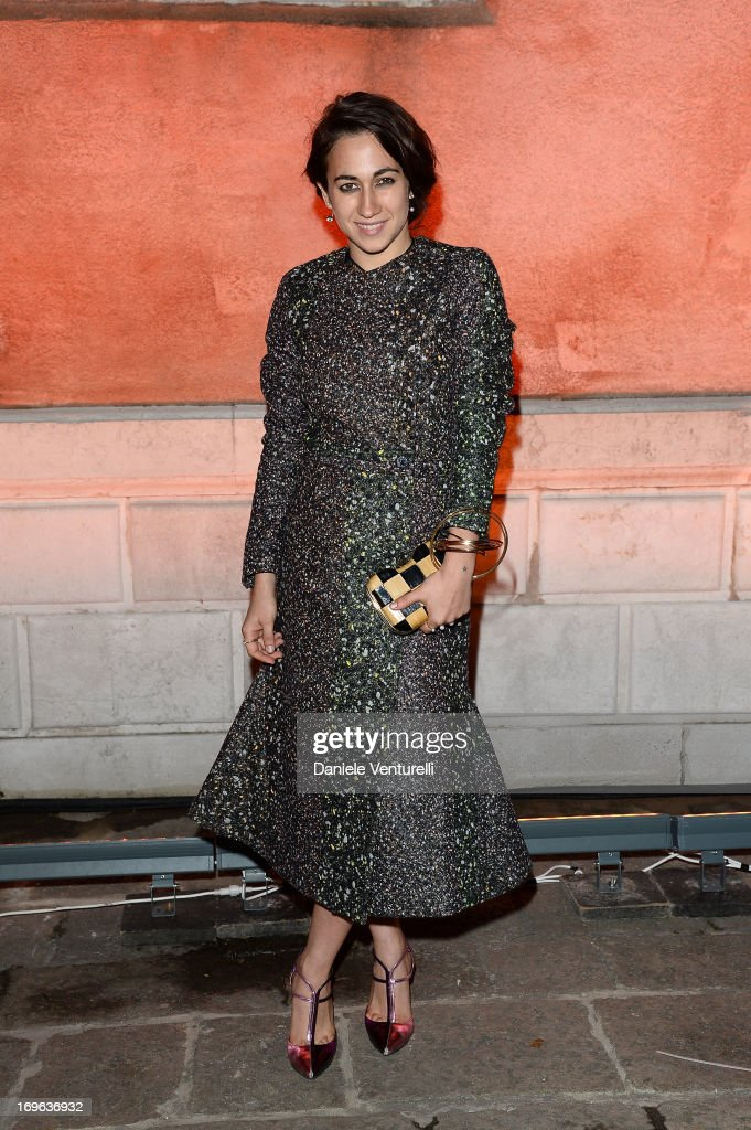 Delfina Fendi attends the Dinner At 'Fondazione Cini, Isola Di San Giorgio' during the 2013 Venice Biennale on May 29, 2013 in Venice, Italy.