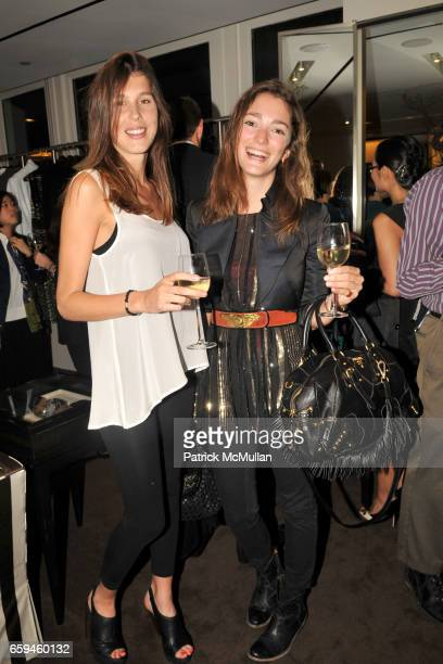Delfina Lutard and Sofia Sanchez attend CAROLINA HERRERA Hosts LARRY FINK's New Book NIGHT AT THE MET in Support of FASHION's NIGHT OUT at Carolina...
