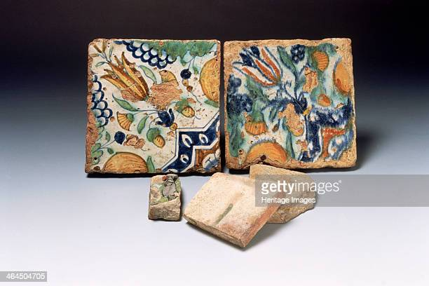 Delftware tiles late 16thearly 17th century The proposed manufacture of Delftware a colourfully painted luxury pottery is first recorded in London in...