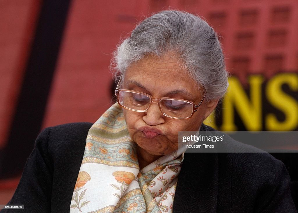 Delhi Chief Minister Sheila Dikshit during the 3rd Foundation Day of Institute of Liver and Biliary Sciences (ILBS), on January 14, 2013 in New Delhi, India.