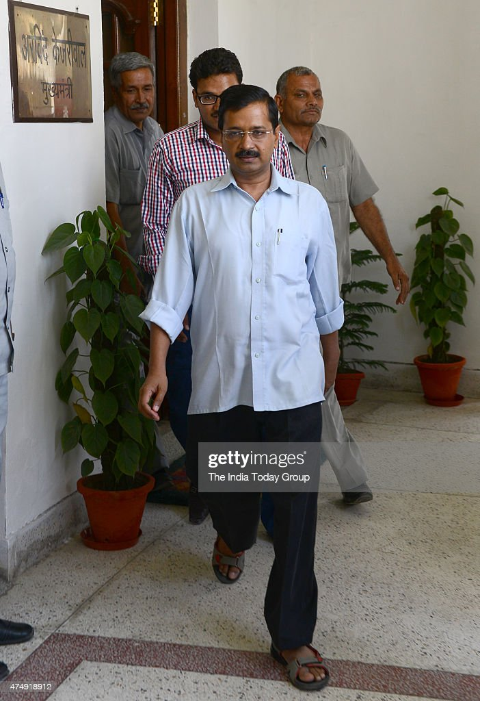 Delhi CM Arvind Kejriwal during Special session of the Delhi Assembly in New Delhi The special session of the assembly has been called to debate the...