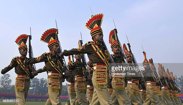 Delhi Police organised its Raising Day Parade at New Police Lines Kingsway Camp with Union Home Minister Rajnath Singh as the Chief Guest at New...