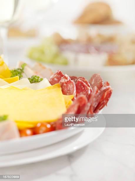デリミートやチーズの盛り合わせパーティ
