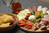 Meat, Cold Cuts - Meat, Cheese, Cheese Board, Slice