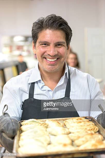 Deli Owner posing Smiling