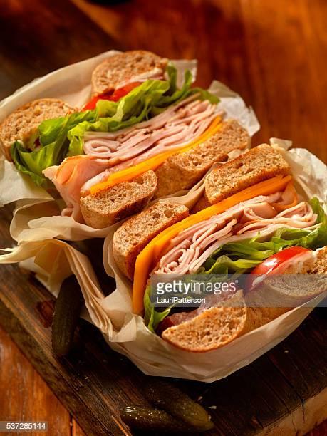 Deli Style Turkey Bagel Sandwich