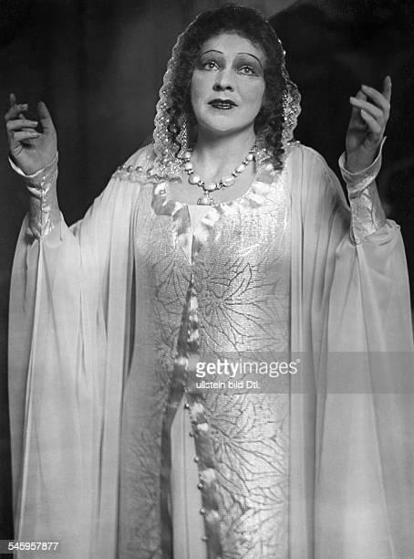 Delia Reinhardt*18921974opera singer Germanyas Isabella in the opera 'Christophe Colomb' by Darius Milhaud opera house 'Staatsoper' Berlin published...