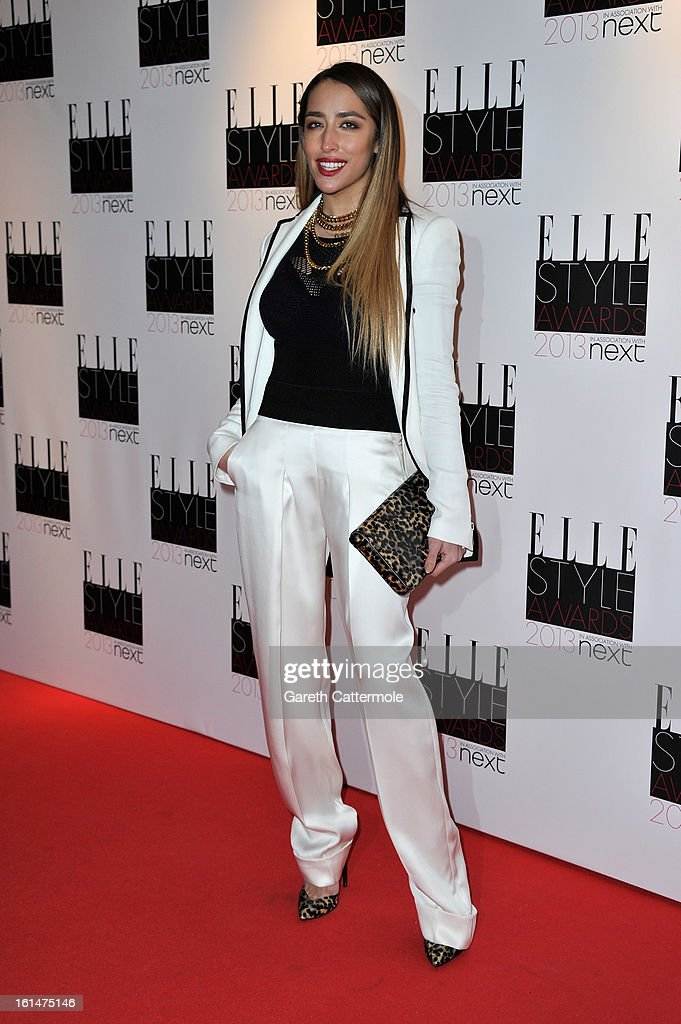 Deliah attends the Elle Style Awards at The Savoy Hotel on February 11, 2013 in London, England.