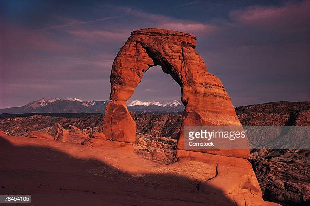 Delicate Arch in Arches National Park near Bryce, Utah