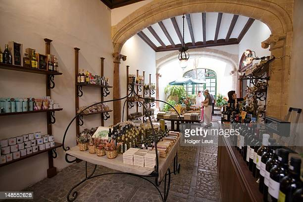 Delicatessen shop in Soller.