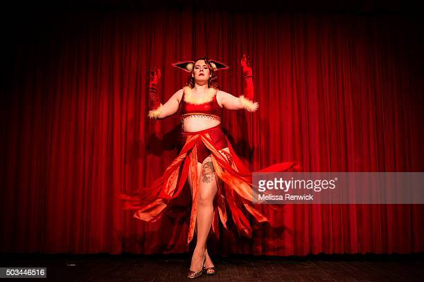 TORONTO ON DECEMBER 30 Delicia Pastiche is one third of troupe performers Nerd Girl Burlesque The group has been producing shows together for around...