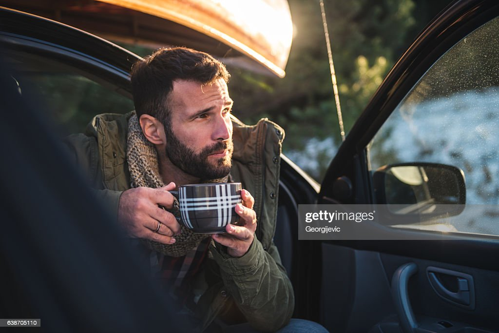Delicious aroma of coffee : Stock Photo