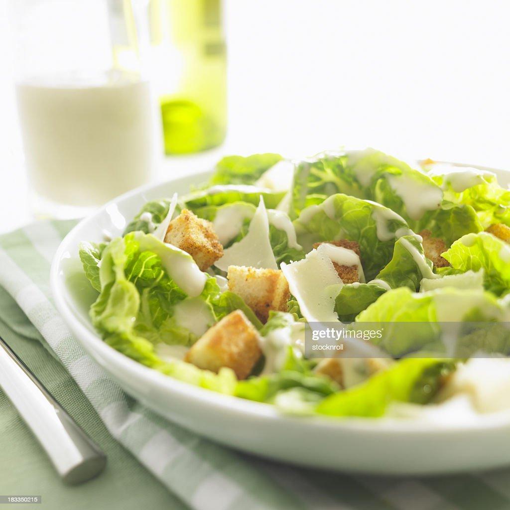 delicious ceasar salad : Stock Photo