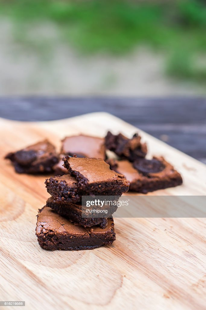 Delicious Chocolate Brownies : Stock Photo