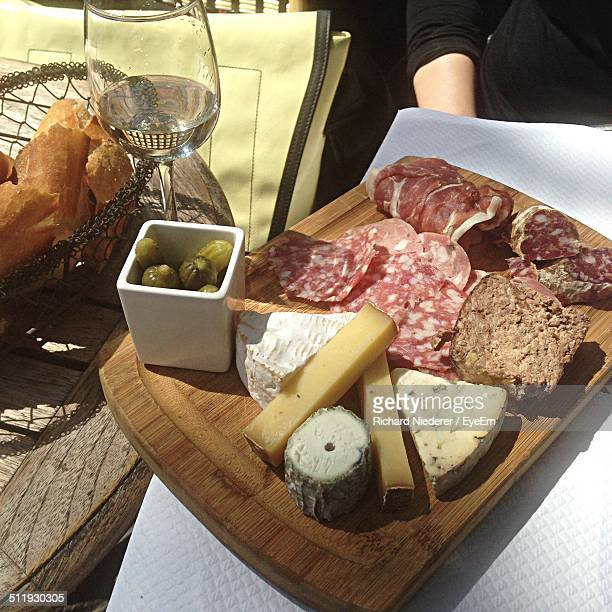 A delicious french meal