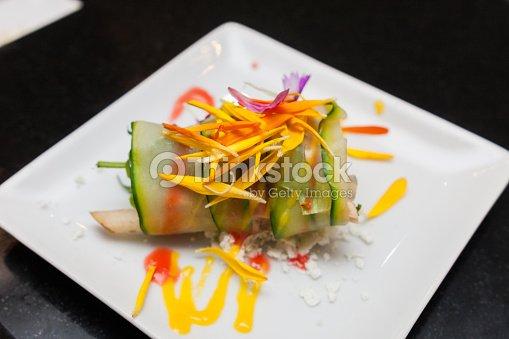 Canap gourmet deliciosas entradas verduras con at n - Platos gourmet economicos ...