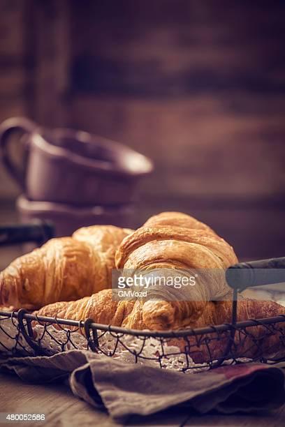 Deliciosos Croissants de mantequilla de casero
