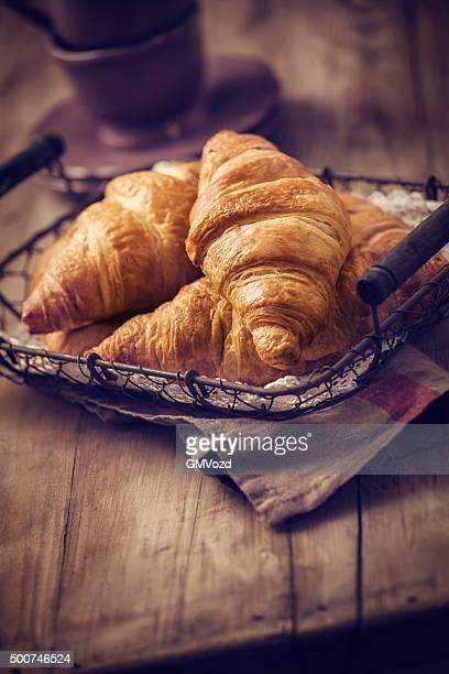 Maison délicieux Croissants au beurre