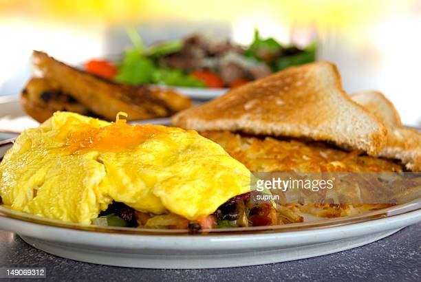 Delicious Omelet Breakfast