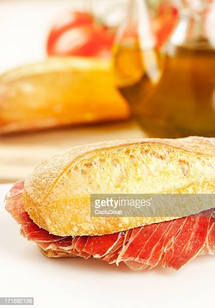 Delicioso sándwich