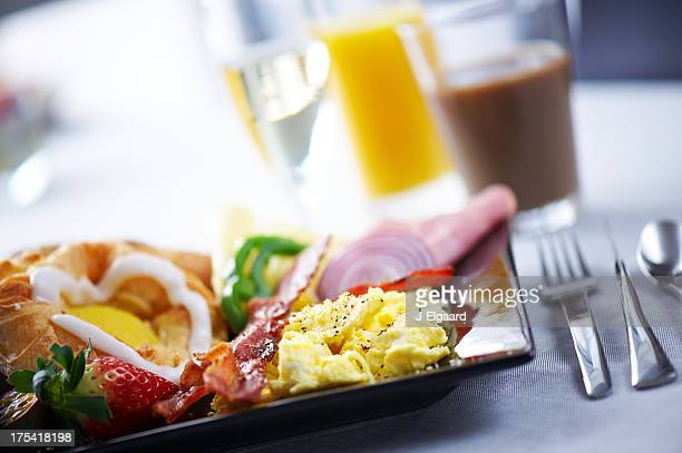 Delicirous breakfast or brunch plate