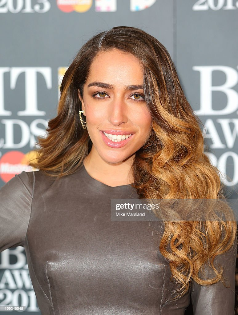 Delilah attends as the nominations for the BRIT Awards are announced at The Savoy Hotel on January 10, 2013 in London, England.