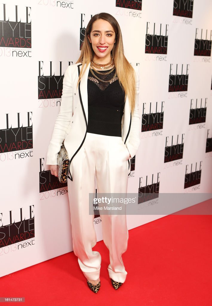 Delilah attends the Elle Style Awards 2013 at The Savoy Hotel on February 11, 2013 in London, England.