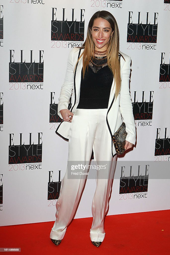 Delilah attends the Elle Style Awards on February 11, 2013 in London, England.