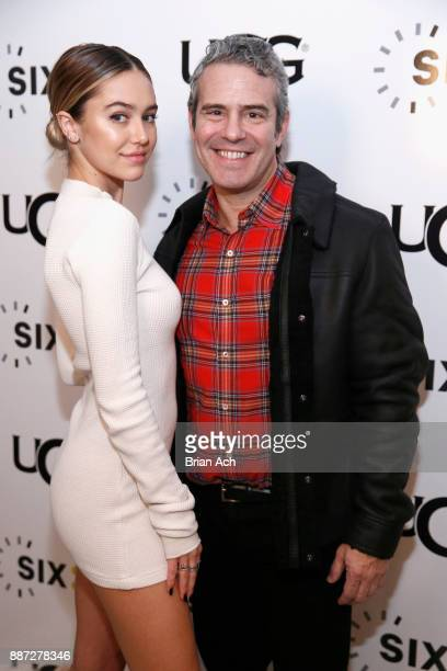 Delilah Belle Hamlin and Andy Cohen attend the UGG x SIX02 holiday event on December 6 2017 in New York City