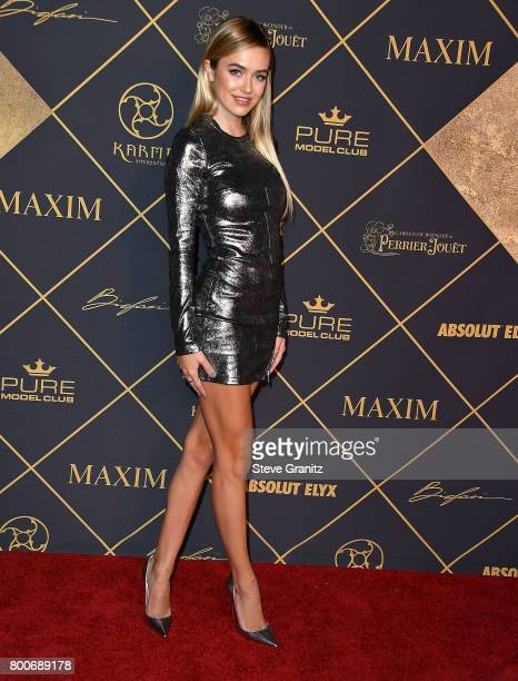 Delilah Belle Hamlin arrives at the The 2017 MAXIM Hot 100 Party at Hollywood Palladium on June 24 2017 in Los Angeles California