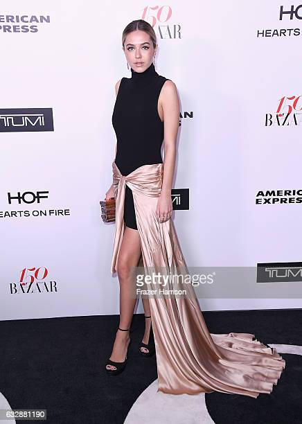 Delilah Belle Hamlin attends Harper's BAZAAR celebration of the 150 Most Fashionable Women presented by TUMI in partnership with American Express La...