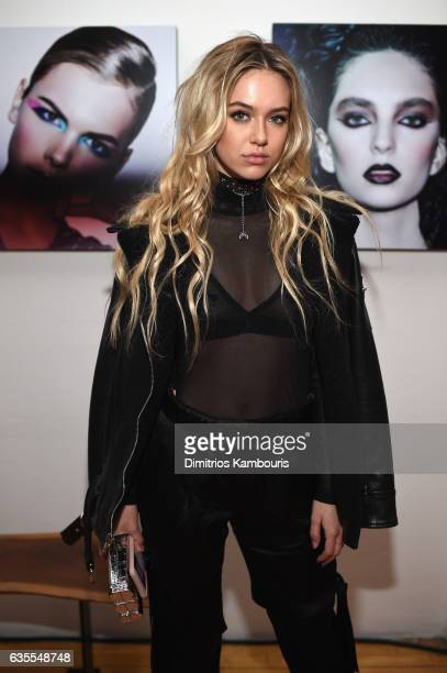 Delilah Belle Hamlin attends Marc Jacobs Beauty Celebrates Kaia Gerber on February 15 2017 in New York City