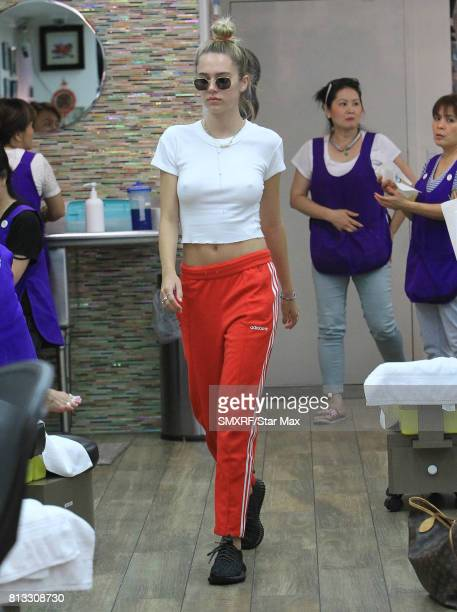 Delilah Belle Hamlin is seen on July 11 2017 in Los Angeles California