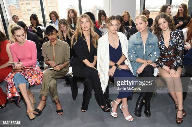 Delilah Belle Selah Marley Camila Morrone Sistine Stallone Princess MariaOlympia of Greece and Denmark and Coco Konig attend the Michael Kors...
