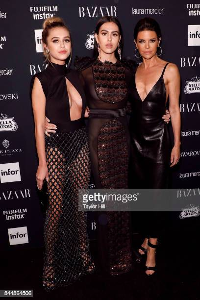 Delilah Hamlin Amelia Hamlin and Lisa Rinna attend the 2017 Harper ICONS party at The Plaza Hotel on September 8 2017 in New York City Magic