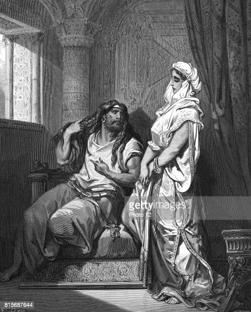 Delilah the Philistine learns from her lover Samson the Israelite that the secret of his great strength lies in his long hair She then betrays him to...