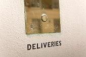 Deliveries buzzer