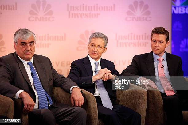 CNBC's Becky Quick moderates The Great Rotation panel with Michael Hintze Founder and Chief Executive Officer CQS Joshua S Friedman CoFounder...
