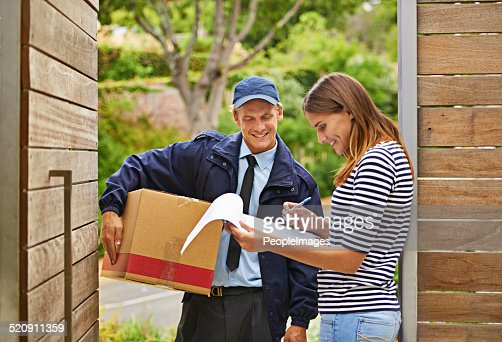 Delivering each package with a smile