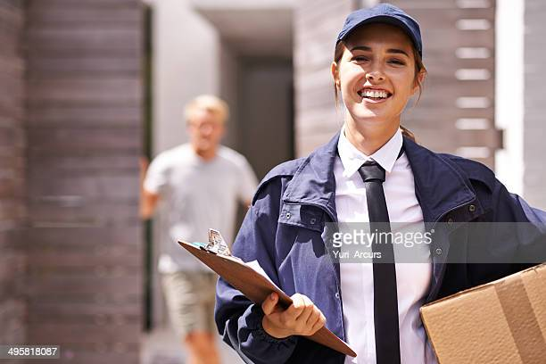 Delivering your parcels and packages professionally