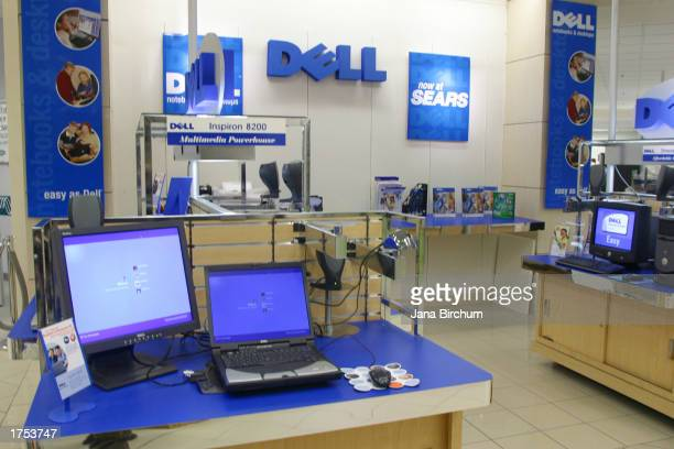 Dell Computer trial kiosk is shown at a Sears Roebuck department store in Lakeline Mall January 30 2003 which is located in north Austin Texas The...