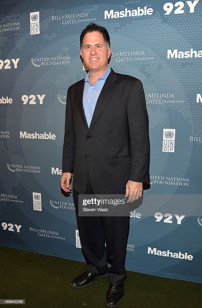 Dell founder Michael Dell attends the 2014 Social Good Summit at 92Y on September 22 2014 in New York City
