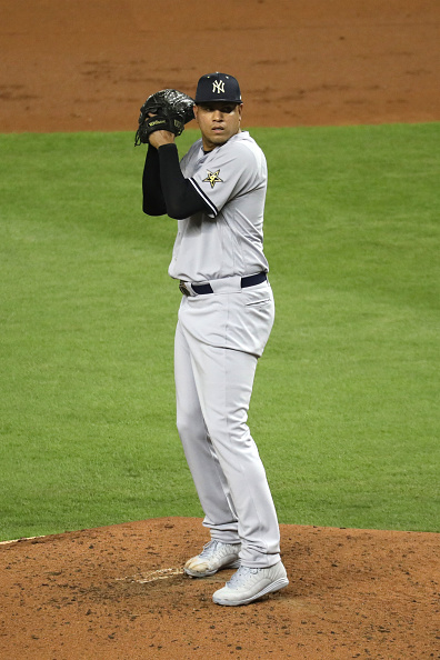 e129040c7 ... miami fl july 11 dellin betances 68 of the new york yankees and the  american league