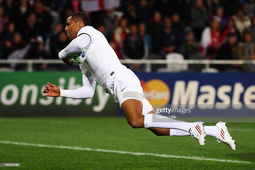 England v Romania - IRB RWC 2011 Match 24