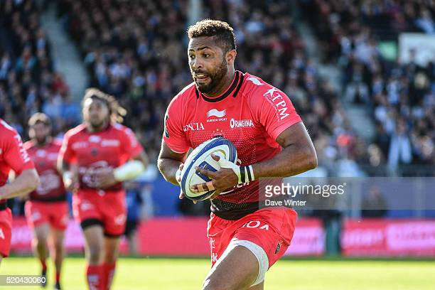 Delon Armitage of Toulon during the European Rugby Champions Cup Quarter Final between Racing 92 v RC Toulon at Stade Yves Du Manoir on April 10 2016...